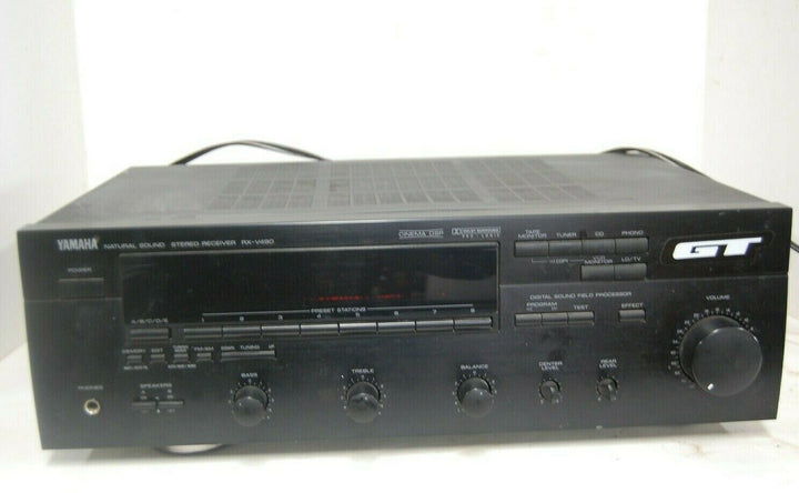 Yamaha RX-V490 5.1 Channel Natural Sound Stereo AV Receiver WORKS