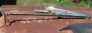 1964 64 Ford Galaxie 500 XL Left Hand Driver Side Window Vent Glass Assembly