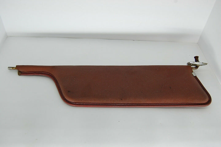 1968 Ford Galaxie 500 Sun Visor Original Red Vinyl