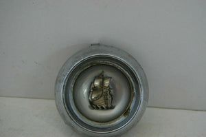 1956 PLYMOUTH BELVEDERE CENTER STEERING WHEEL BUTTON EMBLEM OEM MOPAR 56