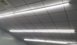 Delivering 3600 lumens of 36 watt LED lighting, this 4-foot long light fixture is ideal as a ceiling or overhead light to illuminate a shop or work space.