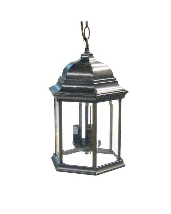 Epiphany Lighting 102070 ORB Three Light Cast Aluminum Hanging Outdoor Exterior