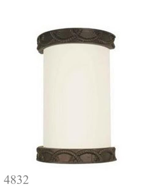 International Light Rope Trim Wall Sconce Lighting Beach House Decor LED Comp.