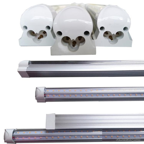 12 Volt LED 4' Lights V Shaped Enclosed Trailers, Truck Beds lighting