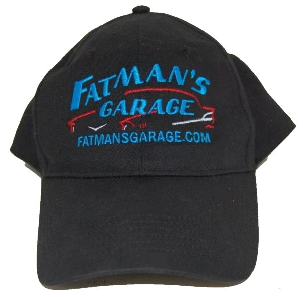 Fatman's Garage auto shop ball cap made in the USA