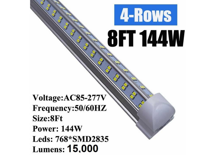 8 Ft 144 Watt LED Ceiling Light Fixture lighting