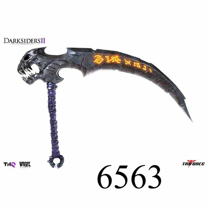 Soul Reaper Scythe Darksiders 2 Project TriForce Full Scale Replica Man Cave