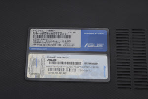 "Asus X55A 15.6"" Laptop Disc Drive HDMI No Hard Drive Tested Intel Celeron 4G Ram"