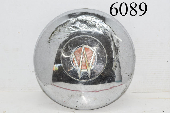1949 1953 Jeep Willys Overland Jeepster Dog Dish Poverty Hubcap Hub Cap