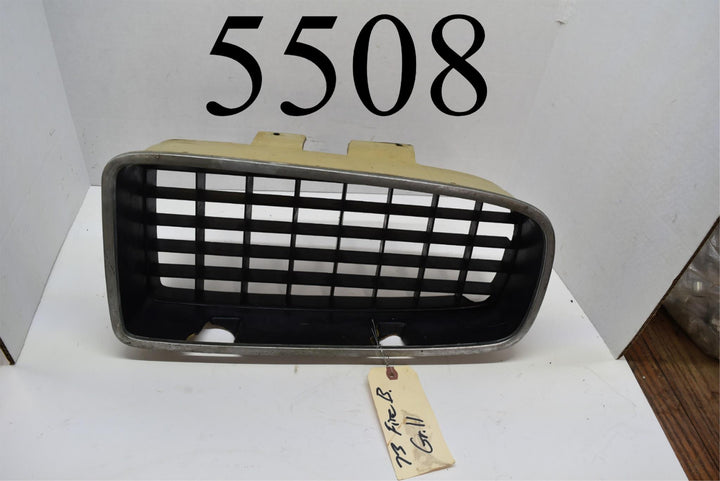 1973 73 Pontiac Firebird Passenger Right Side Grill Grille One Year Only GM