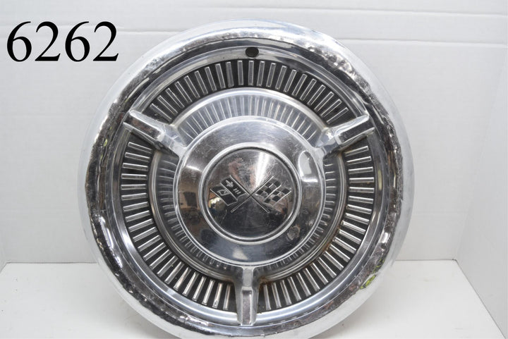 "1958 58 Chevrolet Belair Impala Nomad 14"" Wheel cover Hubcap GM"