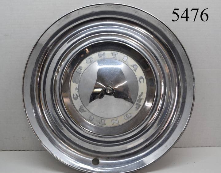 Original 1953 Pontiac Chieftain Catalina Deluxe Hubcap 53 Wheel Cover