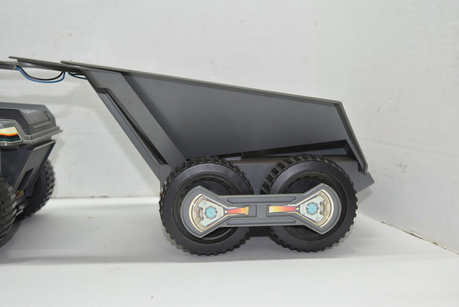 Big Trak And Transport Vintage Toys Tested Partially Working Broken Trailer 1979