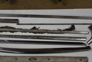 Large Lot of Misc 1958 Chevy Trim 58 Chevrolet Moulding Interior Exterior