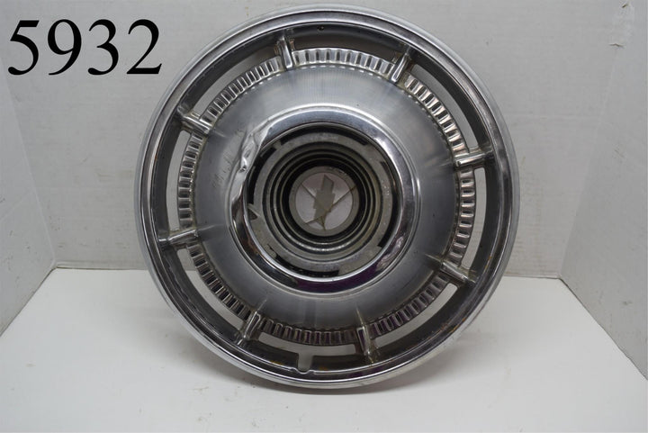 1966 66 Chevrolet Chevy Bel Air Impala Biscayne Single Hubcap Van Wheel Cover 1