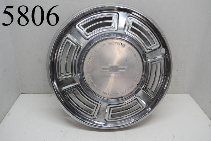 "1970 Chevy Chevelle 14"" Wheel Cover Hubcap Single (1) GM OEM Chevrrolet"