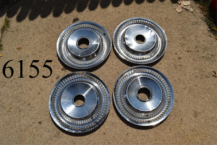 Old Hubcaps 15 Inch Wheel Covers (Set of 4) hub cap