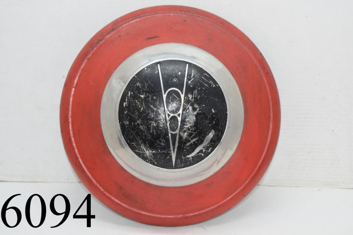 1936 Ford V8 Hubcap Hub Cap Wheel Cover Dog Dish Poverty 1930s  Old Bubble