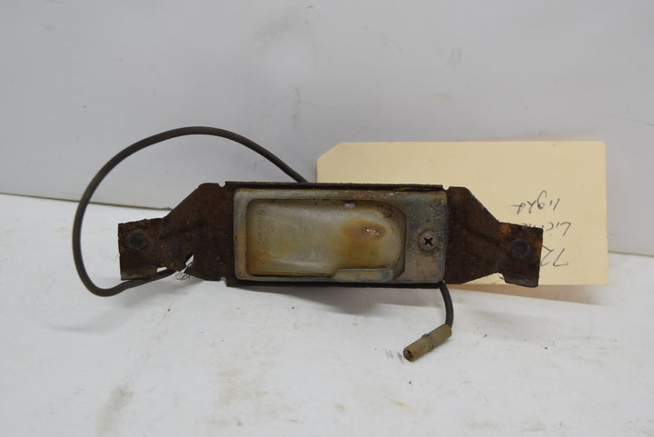 1972-1974 License Plate Light OEM Maverick Comet Gran Torino Sport Cougar 72 73