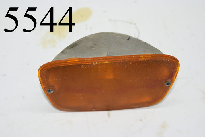 1972-73 Firebird Front Signal Lamp light Turn Parking 59639671 Trans Am Amber