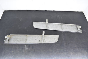 1967 Mustang Grille Trim Bars LH RH Pair 67 Ford Original Chrome