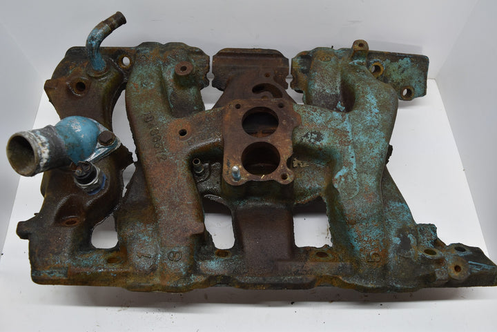 1963 Pontiac Catalina Intake Manifold 2 Barrel Original OEM GM 63