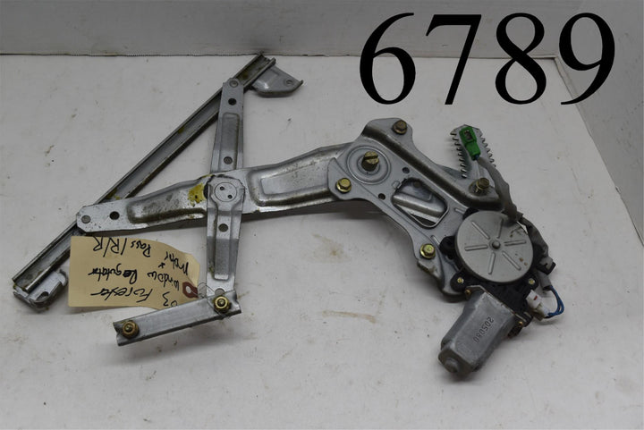 03-08 Subaru Forester Passenger Rear Door Power Window Regulator Motor RH Right