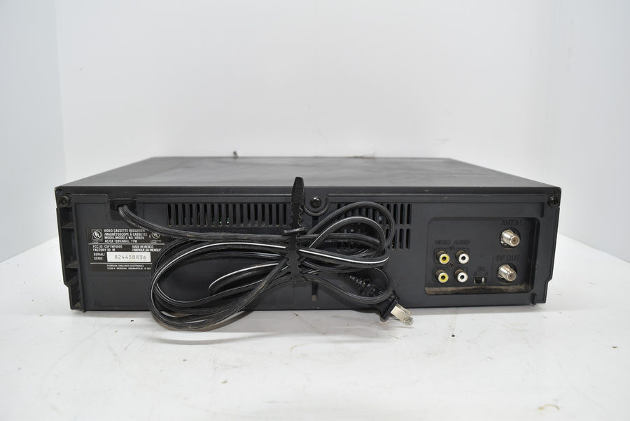 RCA VCR Plus Performance 4 Head Video System Tested Powers On No Remote
