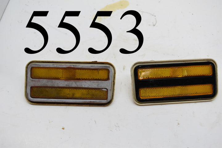 70 -81 Pontiac Firebird Trans AM Side Marker Light Right And Left Side 5963136