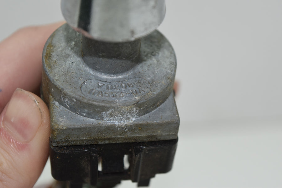 M Caroselli Painting Jewelry Box Native American Horse Wolf Wooden Vintage