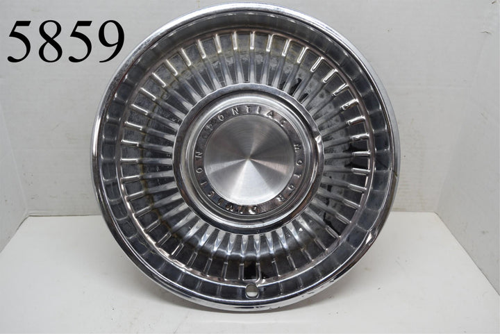 "1963 Pontiac Catalina Bonneville 14"" Hubcap Ventura Wheel Cover Single (1)"