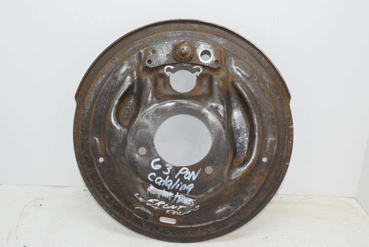 "Rare 1963 Pontiac Catalina 11"" Front LH Driver Backing Plate CLEAN"