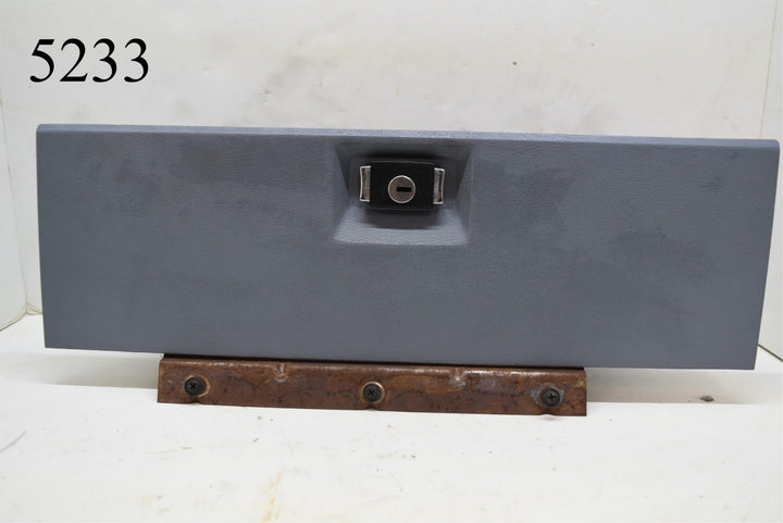 1983 Ford Mustang Blue Glove Box Door Glovebox Compartment No Key