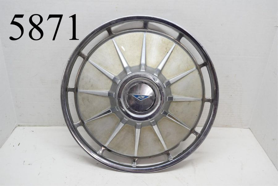"1961 Chevrolet Corvair 13"" Hubcap Wheel Cover Man Cave Rat Rod Single (1)"