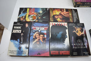 Lot of 39 Miscellaneous VHS Movies 80s 90s Tapes