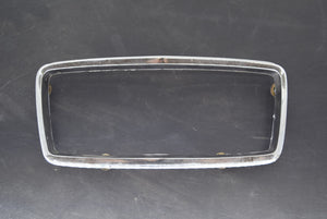 1968 Mustang Fastback GT Grille Center Trim Corral Original Chrome Ford