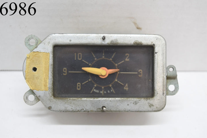 1949 1950 Chrysler Dash Clock Jaeger Watch Co MOPAR 49 50 New Yorker Imperial