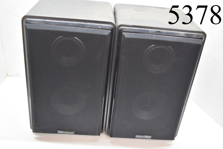 Technical Pro SPH5 Shelf Speakers stereo Home audio pair great condition