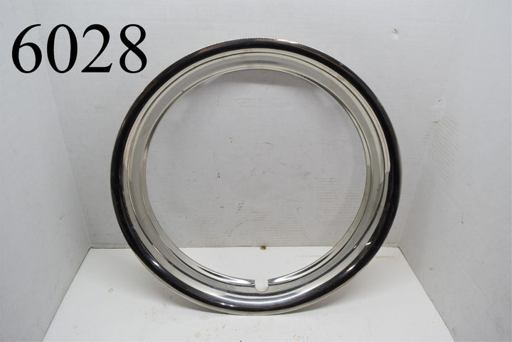 "16"" Chrome Beauty Ring Chevy Ford GM Mopar Dodge Wheel Cover Hubcap Single Nice"