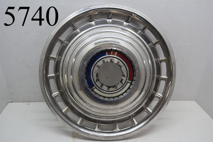 "1963 Ford Galaxie 500 Fairlane 14"" Hubcap Wheel Cover Rim Hot Rod Rat Rod (1)"