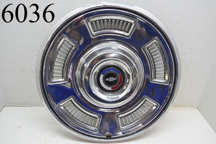 "1967 67 Chevrolet 14"" Single (1) Hubcap Chevy Wheel Cover Man Cave Rat Rod"