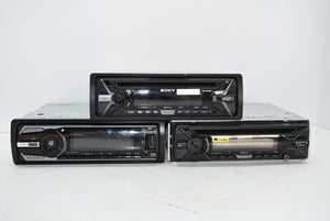 Lot of 3 Sony Car Radios Stereos Untested For Repairs