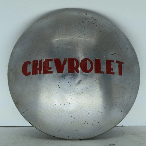 1947-1953 Chevy 1/2 Ton Truck Hub Cap Dog Dish OEM Original Chrome Chevrolet