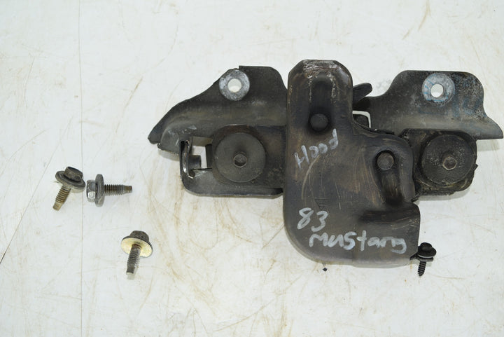 1979-1986 Ford Mustang Hood Release Latch+Bracket+Bolts Original Fox Body