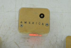 Five Narko Japan Americana Themed Music Boxes