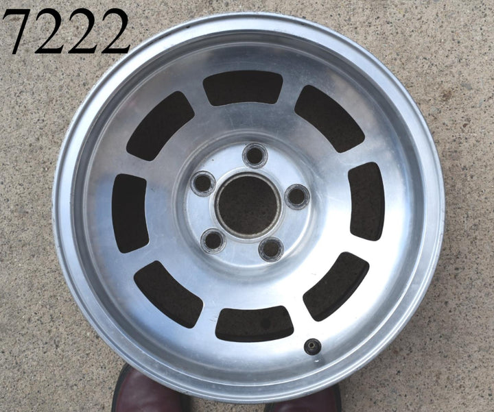 1974 1982 Chevy Corvette Western Alloy Machined Aluminum Slotted Wheel 15 x 8