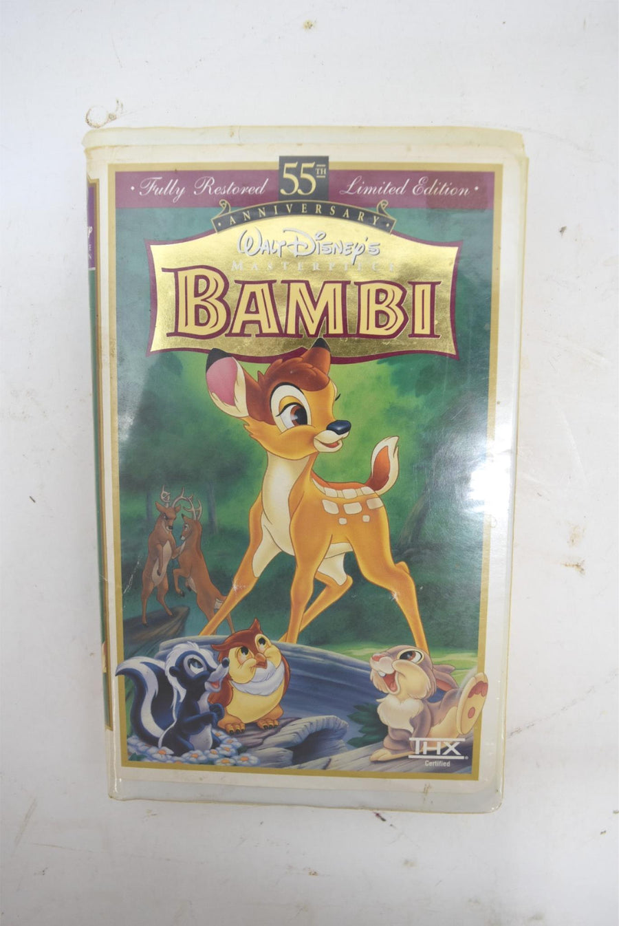 Bambi VHS 55th Anniversary Limited Edition RARE Masterpiece Collection