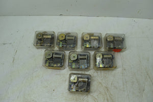 Narco Japan Fuji Robin Lot of 8 Music Boxes Open Box Unused With Keys
