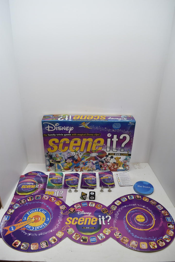 2004 Disney Scene It Board Game DVD Complete! 1st Edition Trivia Toys Family
