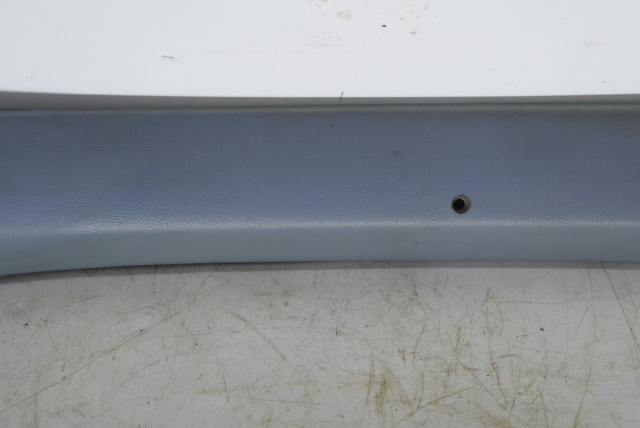 1983-1986 Ford Mustang Convertible A Pillar Trim Interior Light Blue LH OEM